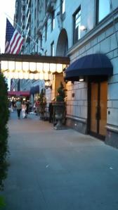 Approaching the Ritz